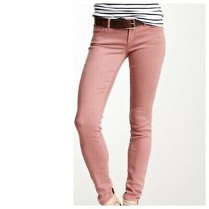 Mother The Looker Pop Skinny Jeans Old Rose 28